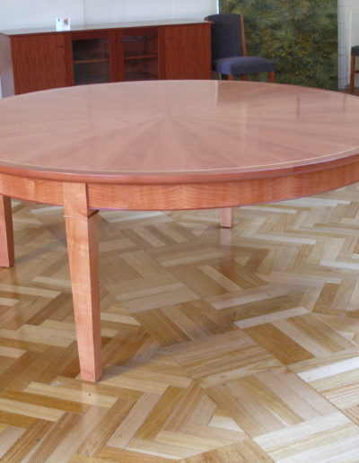 Inlayed round table
