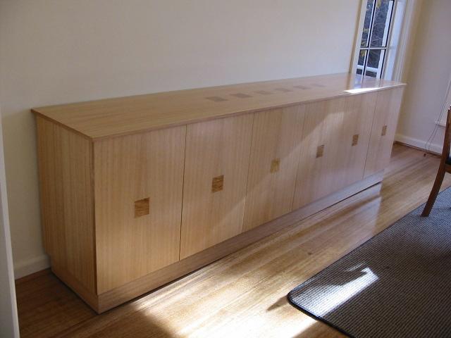 Tas oak sideboard