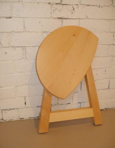 Folded stool